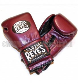 Cleto Reyes Velcro Sparring Gloves Sparkling Purple
