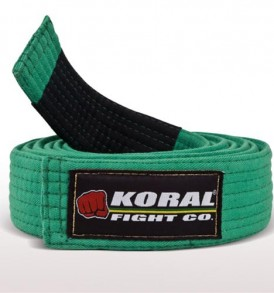 Koral Kids Green BJJ Belt