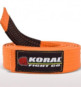 Koral Kids Orange BJJ Belt