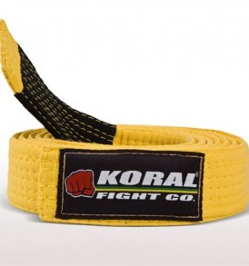 Koral Kids Yellow Belt
