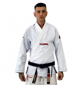 Koral Original Slim BJJ Gi - White