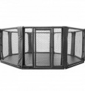 Octagon Cage 10cm Elevated from Floor 5 x 5 M