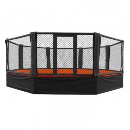 Octagon Cage 100cm Elevated from Floor 7 x 7 M