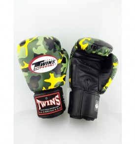 Twins Fantasy Boxing Gloves - Urban Yellow