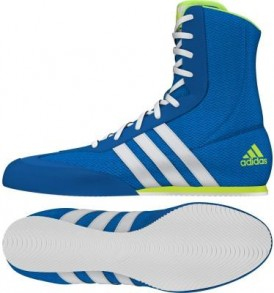 Adidas Box Hog 2 Boxing Boots - Shock Blue