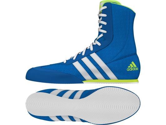 Adidas Box Hog 2 Boxing Boots – Shock Blue
