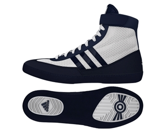 d3535984e08 Adidas Combat Speed 4 Wrestling Shoes - White Navy - Fight Store IRELAND
