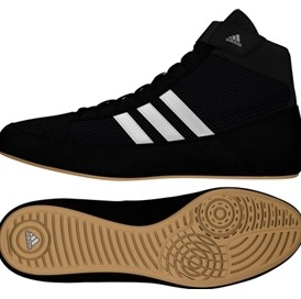 Adidas Havoc Core Black Wrestling Shoes