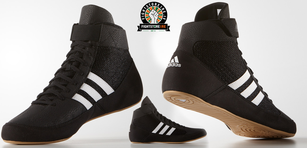 new styles c19eb 95b36 Adidas Havoc Core Black Wrestling Shoes   Fight Store IRELAND