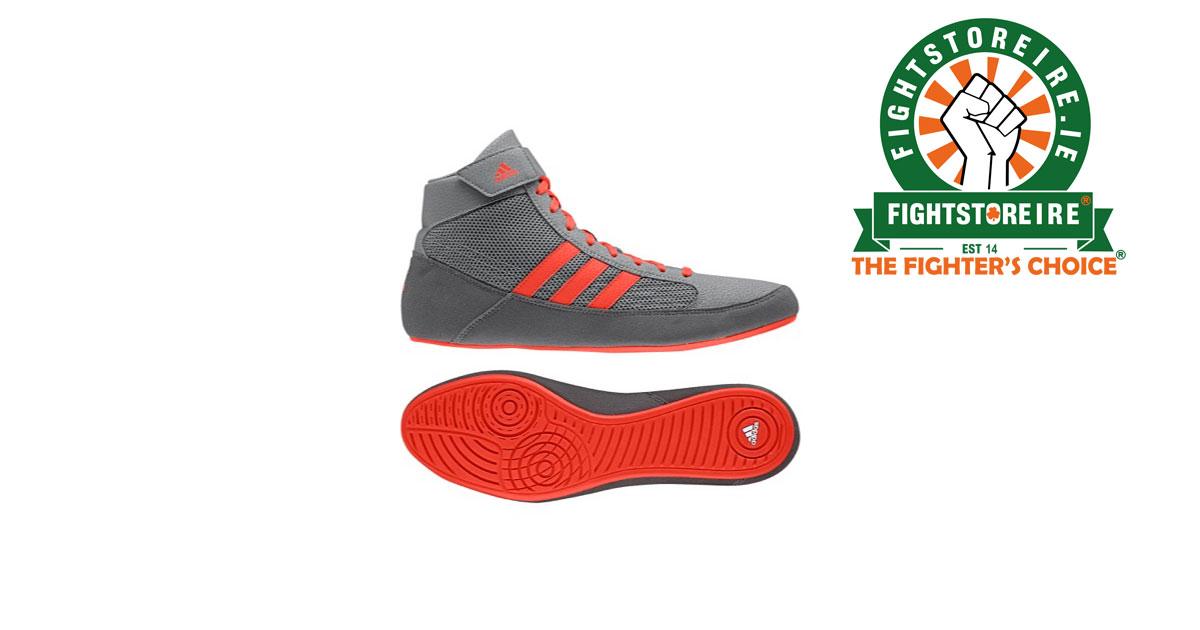 Adidas Havoc Grey Wrestling Shoes