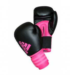 Adidas Hybrid 100 Boxing Gloves - Pink
