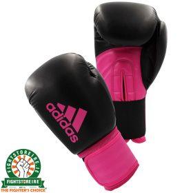 Adidas Hybrid 100 Boxing Gloves - Pink