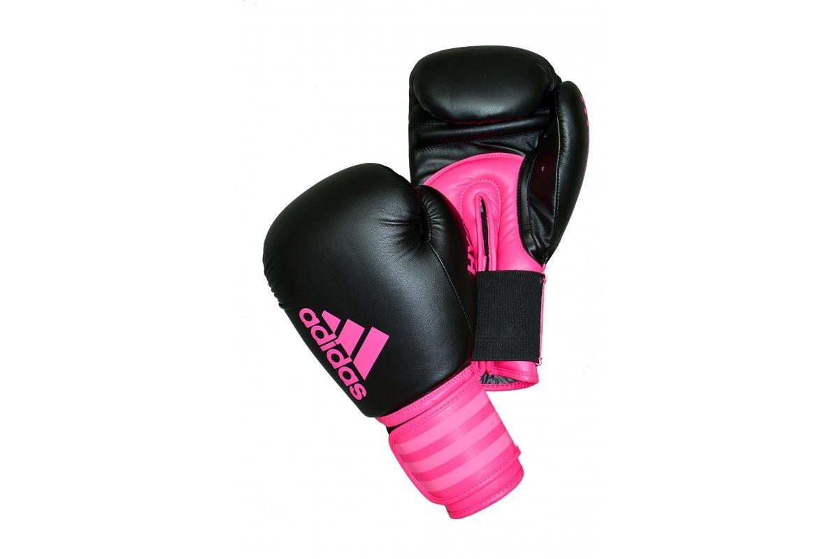 0e489c62e Adidas Hybrid 100 Boxing Gloves - Pink