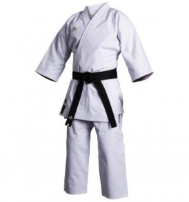 Adidas WKF Champion Karate Uniform - European Cut - 17oz Kata