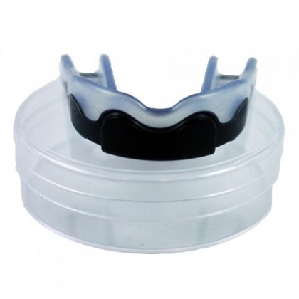 Booster Black and Transparent Kids Mouthguard