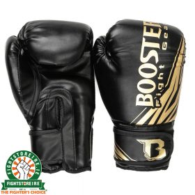 Booster Kids BT Champion Boxing Gloves - Black