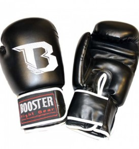 Booster Kids Boxing Gloves - Black