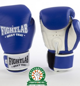 Fightlab Classic Muay Thai Gloves - Blue