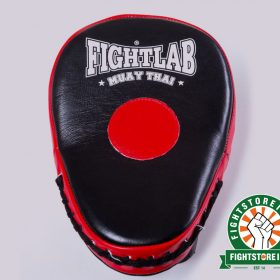 Fightlab Curved Air Focus Mitts - Black and Red