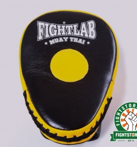 Fightlab Curved Air Focus Mitts - Black and Yellow