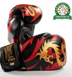 Fightlab Enter The Dragon Muay Thai Gloves - Black