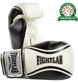 Fightlab Flo Muay Thai Gloves - Black/White