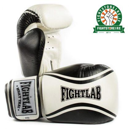Fightlab Flo Muay Thai Gloves - Black/White