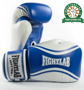 Fightlab Flo Muay Thai Gloves - Blue/White