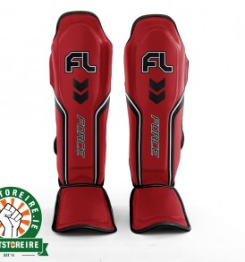Fightlab Force Shinguards - Red