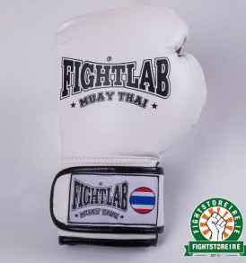 Fightlab Kids Muay Thai Gloves - White