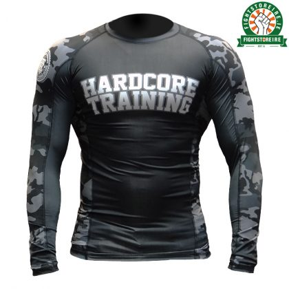 Hardcore Training Camo 2.0 Rashguard - Black