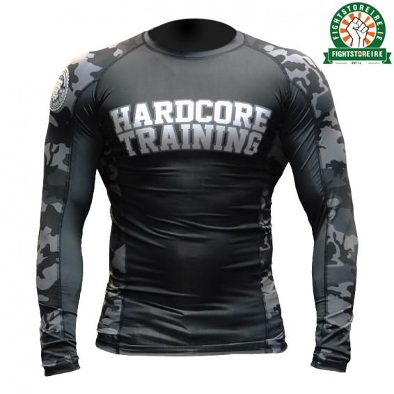 Hardcore Training Camo 2.0 Rashguard - Black