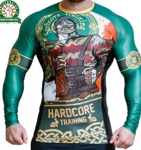 Hardcore Training Irishman Rashguard - Green