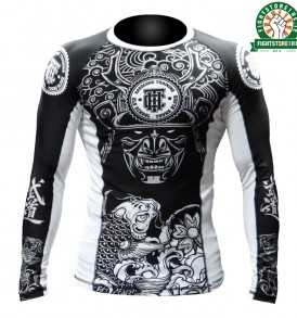 Hardcore Training Koi Rashguard - Black/White