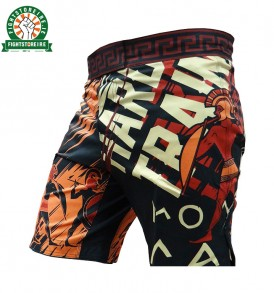 Hardcore Training Sparta MMA Shorts - Black