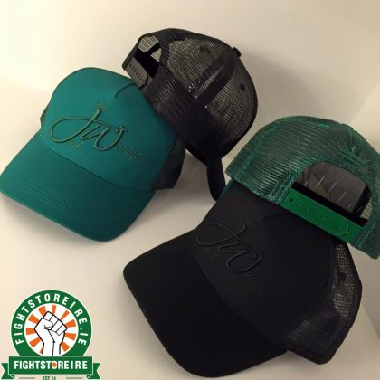 Just Winning Trucker Hat - Black & Green