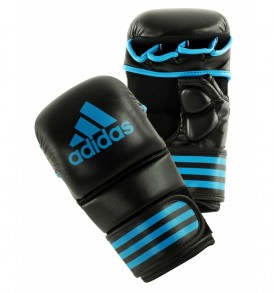Adidas MMA Sparring Gloves - Black/Blue