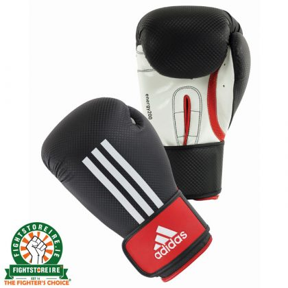 Adidas Energy 200 Boxing Gloves - Black/White