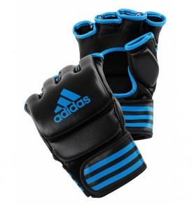 Adidas MMA Training Gloves - Black/Blue