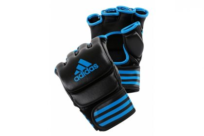 Adidas MMA Training Gloves - Black/Blue