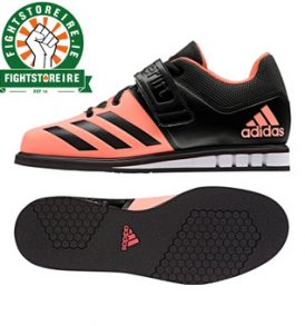 Adidas Powerlift 3 Women's Weightlifting Shoes - Black/Peach