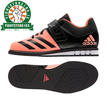 Adidas Powerlift 3 Women s Weightlifting Shoes - Black Peach - Fight ... 8ef922b1c
