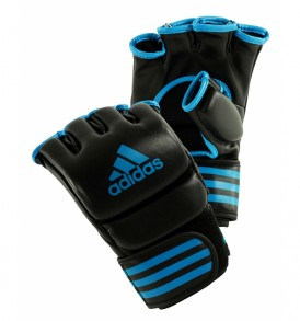 Adidas Pro Training MMA Gloves - Black/Blue