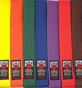 Cimac Coloured Belts