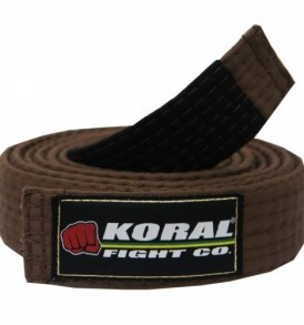 Koral BJJ Brown Belt