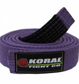 Koral BJJ Purple Belt