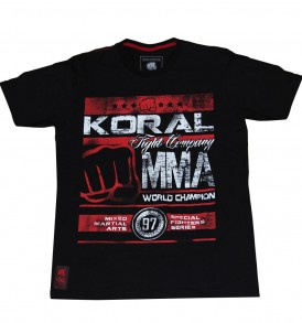 Koral MMA Champion T-shirt - Black