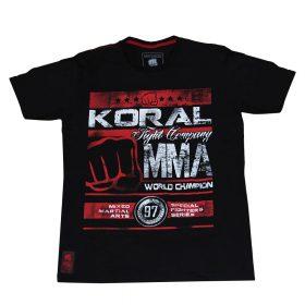 Koral MMA Champion T-shirt - Black