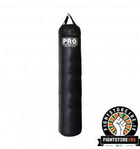 PRO BOXING 6 Foot Banana Bag - Black