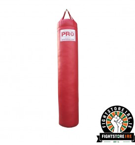 PRO BOXING 6 Foot Banana Bag - Red